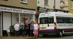 holbeach hospital bus day care league of friends