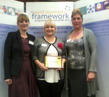 Golod standards Gold standards care award